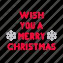 card, celebration, christmas, decoration, greeting, merry, snowflake