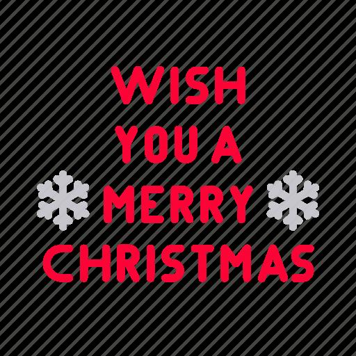card, celebration, christmas, decoration, greeting, merry, snowflake icon