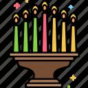 kwanzaa, candles, holiday