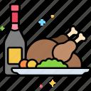 thanksgiving, turkey, holiday