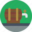 barrel, beer, concert, festival, music icon