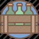 bottles, concert, festival, music icon