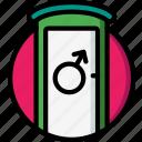 concert, festival, music, toilet