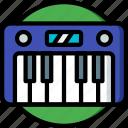 concert, festival, keyboard, music