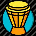 concert, drum, festival, music