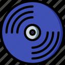 concert, festival, music, vinyl icon