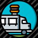 burger, concert, festival, music, van