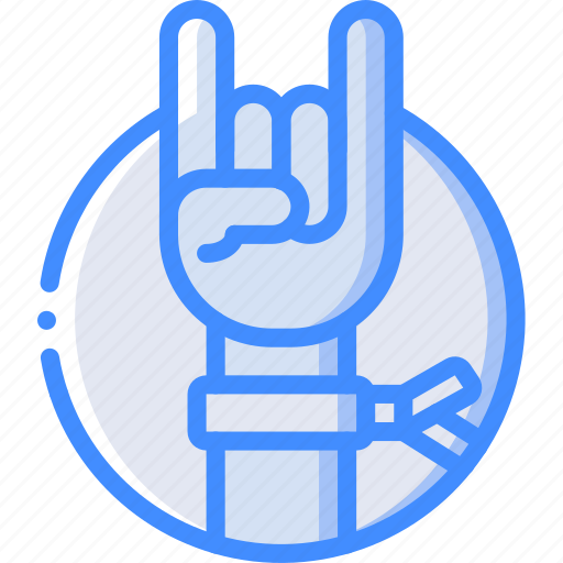 concert, festival, hand, music, rock icon