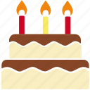 bakery, birthday, birthday cake, cake, cake candle, celebration, christmas icon