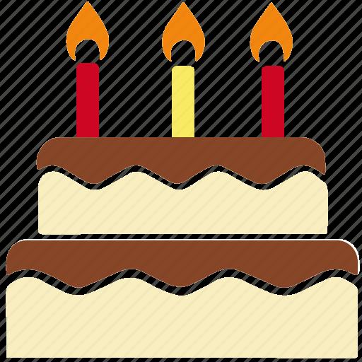 bakery, birthday, birthday cake, cake, cake candle, celebration, christmas icon