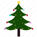 celebration, christmas, christmas tree, decoration, holiday, nature, tree icon
