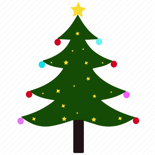 Christmas Tree Facebook Icon: Celebration, Christmas, Christmas Tree, Decoration