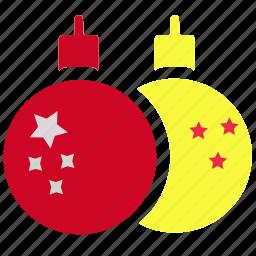 bulb, christmas, decoration, gift, holiday, lamp, light icon