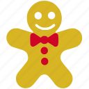 gingerbread, man, boy, account, face, person, user, male, avatar icon