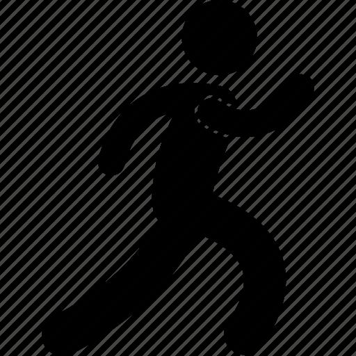 Athlete, dashing, field, posing, posture, speeding, track icon - Download on Iconfinder