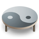 table ying yang icon