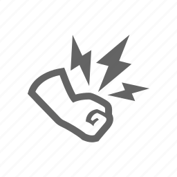 fist, hand, hit, power, punch, strike icon