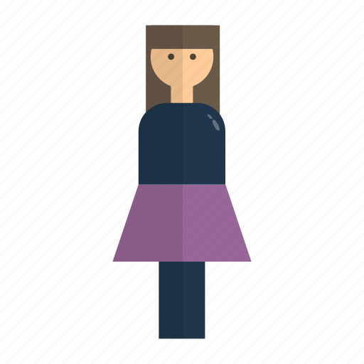 Figure, lady, people, woman icon - Download on Iconfinder