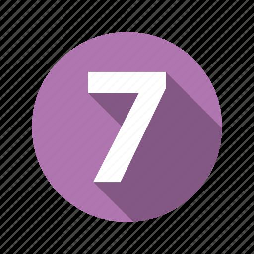 figure, seven icon