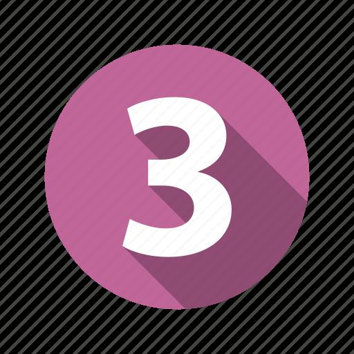 figure, three icon