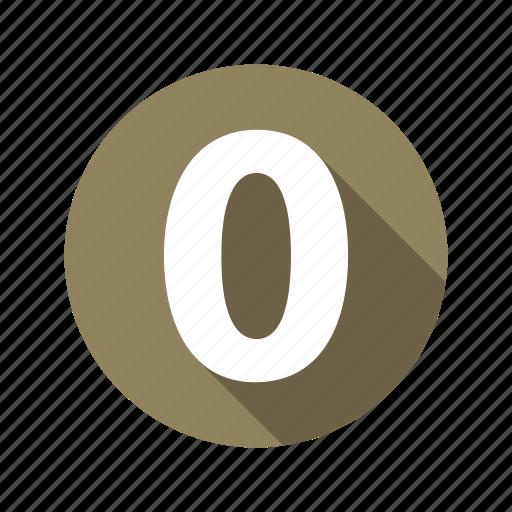 figure, zero icon