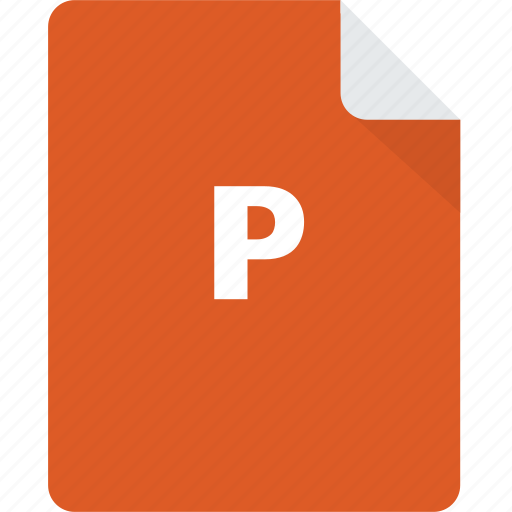 archive, document, files, files and folders, formats, office, powerpoint icon