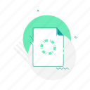 document, file, laod, layout, page, splash screen, web page icon