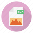 extension, file, format, picture, png icon