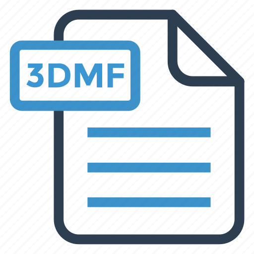 3dmf, document, documentation, file, paper, record, sheet icon