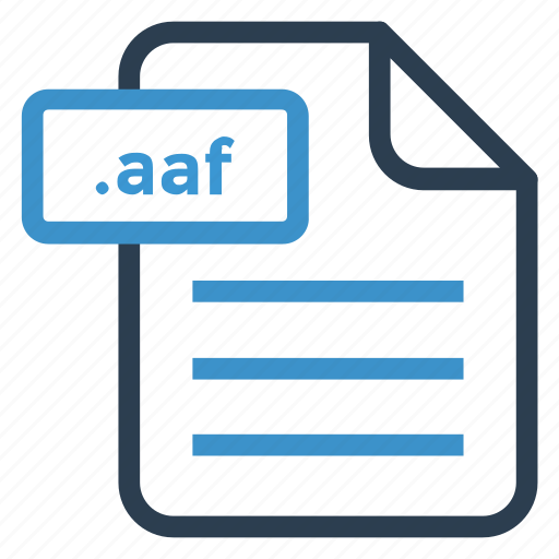 aaf, document, documentation, file, paper, record, sheet icon