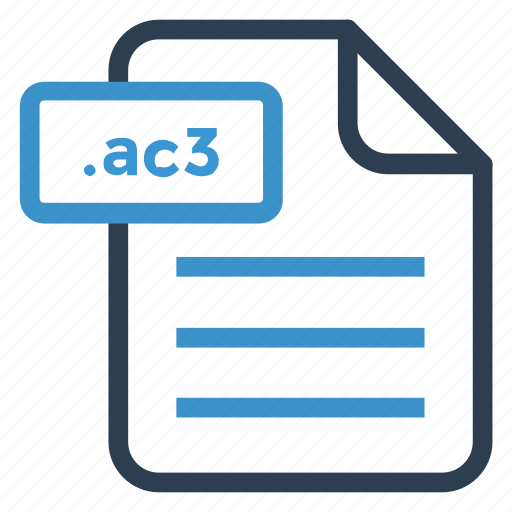 ac3, document, documentation, file, paper, record, sheet icon