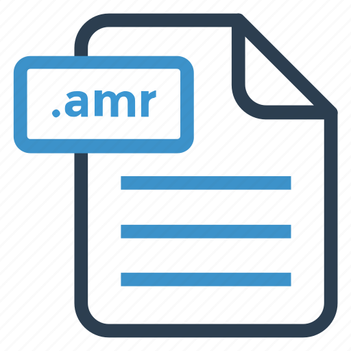 amr, document, documentation, file, paper, record, sheet icon