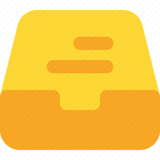 document, file, folder, inbox, office icon