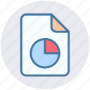 chart, diagram, document, file, graph file, paper icon