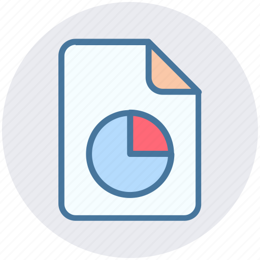 chart, diagram, document, file, graph file, paper icon