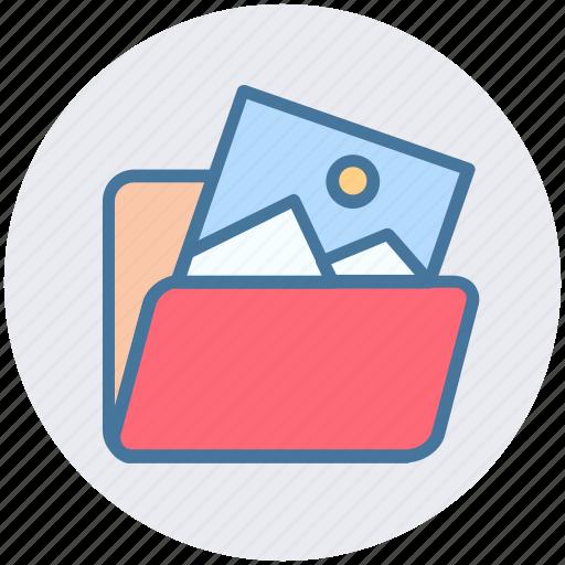 document, file, folder, image folder, photo icon
