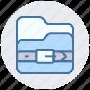 batch, compress, document, files, folder, zip