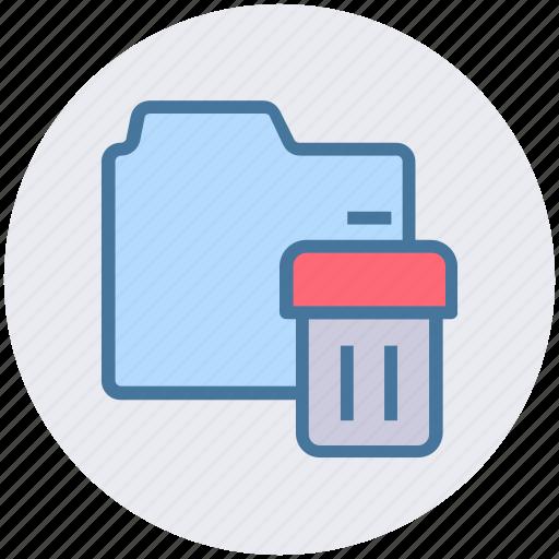 bin, directory, dustbin, folder, garbage, trash icon