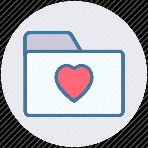 bookmark, category, favorite, folder, heart, like icon