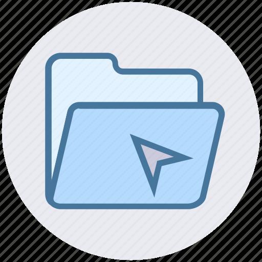 archive, arrow, documents, folder, folder open, office icon
