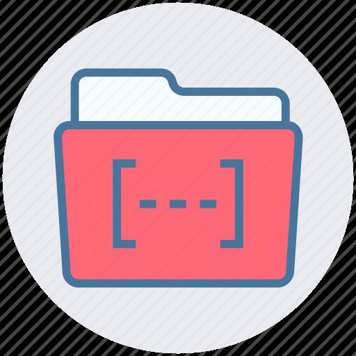 bracket, category, document, file and folder, folder icon