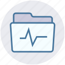 archive, data, folder, graph, storage icon