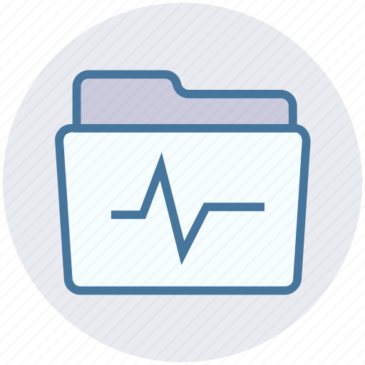 archive, data, folder, graph, storage icon