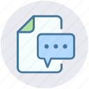 document, envelope, file, letter, mail, paper icon