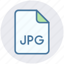 document, file, image, jpg, jpg file icon