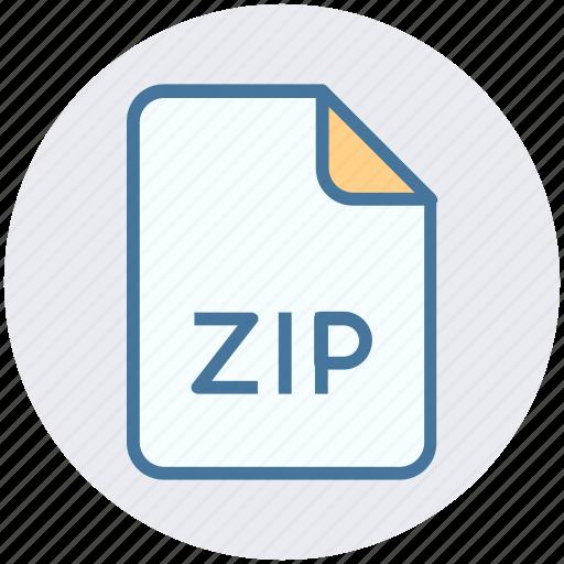 achieve, file, format, zip, zipped, zipped file icon