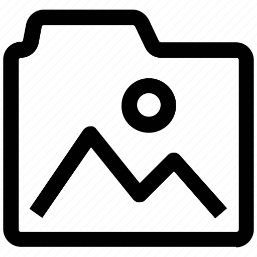 .svg, document, file, folder, image folder, photo icon