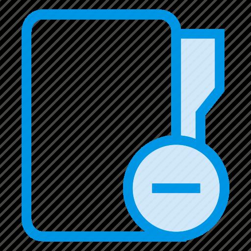 delete, directory, documentcase, filescatalog, folder, jacket, portfolio icon
