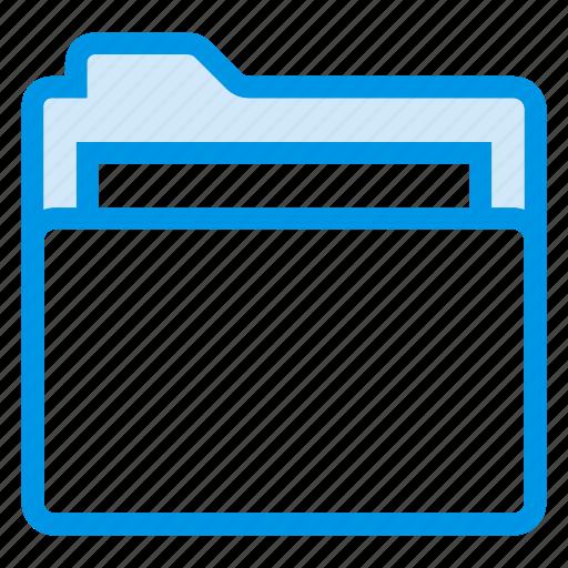 directory, document, documentcase, filescatalog, folder, jacket, portfolio icon
