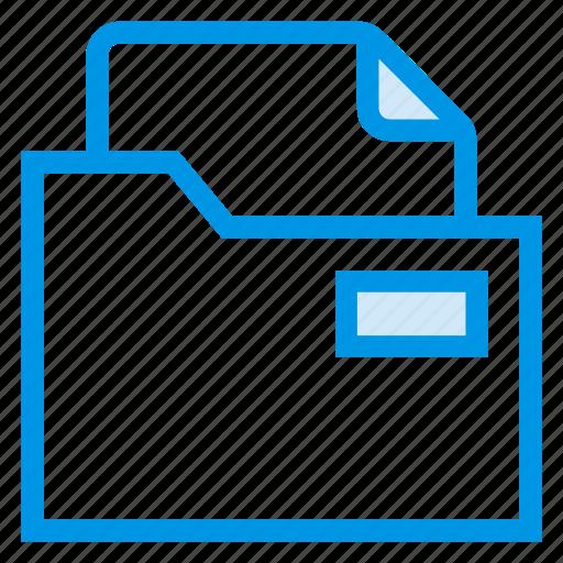 directory, documentcase, file, filescatalog, folder, jacket, portfolio icon